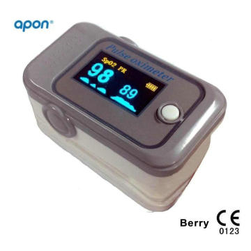 Guarantee 2 Patents Fingertip Pulse Oximeter Popular OLED for SpO2 Test Finger SpO2 Monitor Pulse Oximetry