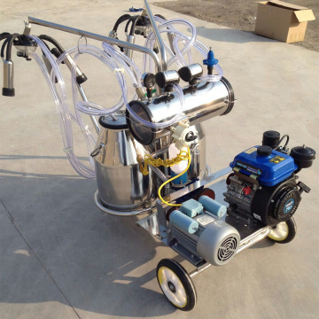 Dual-Typed Bensin-Vacuum Pump Milking Machine