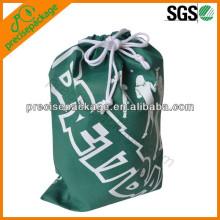 China hina sacos de sapatos de cordão à prova de poeira reutilizáveis
