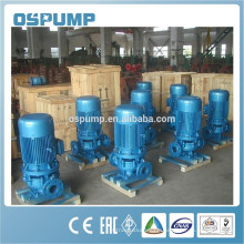 Vertical inline Cast Iron sewage Pipe Pump