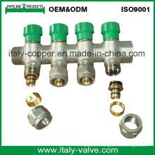 Italie Design Compression Manifold en laiton pour tubes à chaleur (AV9062A)