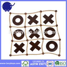 wooden noughts and crosses outdoor tic tac toe