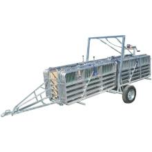 Livestock Equipment Portable Sheepyards With Trailer Single Axle