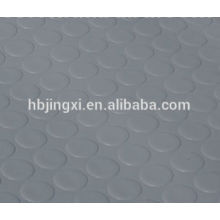 Grey Round Button Non-slip Rubber Floor Mat