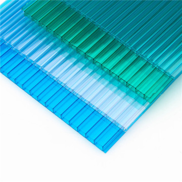 feuille creuse de PC de feuille de polycarbonate de sunshine multiwall