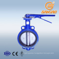 fresh water dn300 wcb butterfly valve viton seat with worm gear box