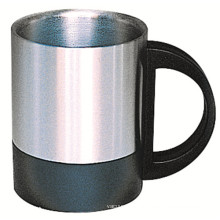 SUS 304 Stainless Steel Double Wall Mug Sdc-220b