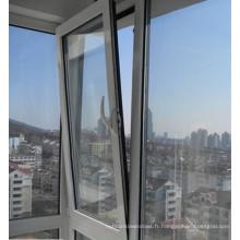 Inclinaison en aluminium enduit de poudre tournez la fenêtre avec