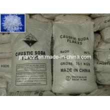 Pure Caustic Soda Flakes (99%min)