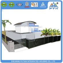 Luxury high quality villa house european modular homes