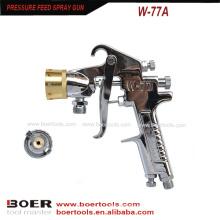 Arma de pulverizador W-77A da pintura do mármore da multi cor no tanque da pintura