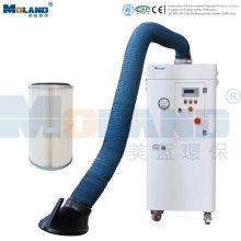 Système de purification d'air de soudage par filtration autonettoyante
