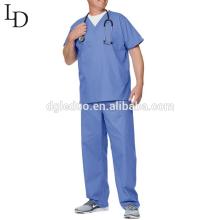 Wholesale Cheap price comfortable men nurse uniform