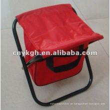 Banqueta dobrável de armazenamento com saco VLA-2001S