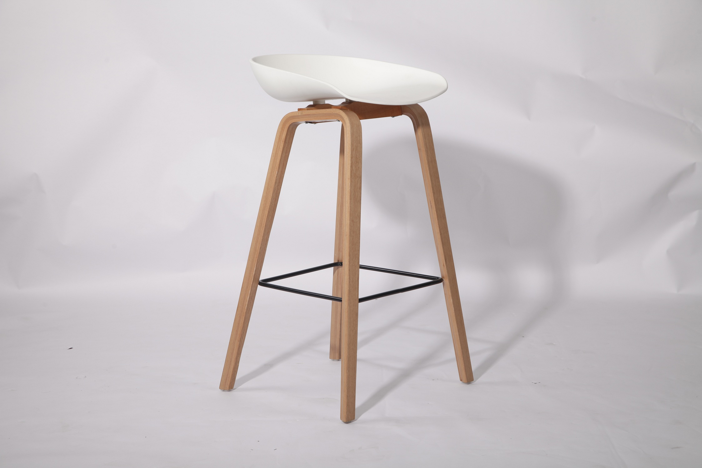 High Plastic Bar Counter Stool