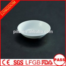 New Design diamond shape small ceramic/porcelain sauce dish