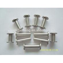 Silver Top Grade metal screw for paper file,hardware accessories