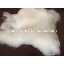 Chinesische kardierte Schafwolle natürliche Schafwolle 18.0-21.5mic