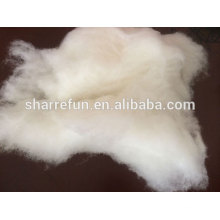 Laine de mouton cardé chinois laine naturelle mouton 18.0-21.5mic