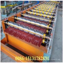 Dx Color Steel Glazed Roof Tile Making Machine