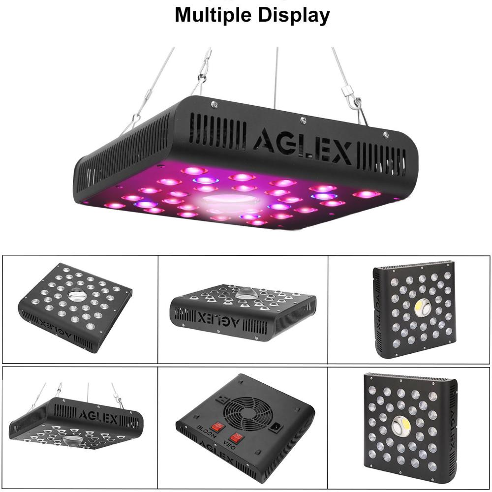 600w Grow Light Multiple Display