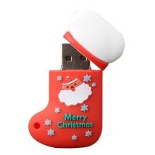 Рождественский подарок для продвижения акций USB-флеш-накопитель
