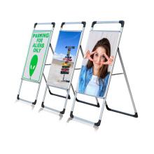 Портативный штендер для рекламы на тротуаре A-Board