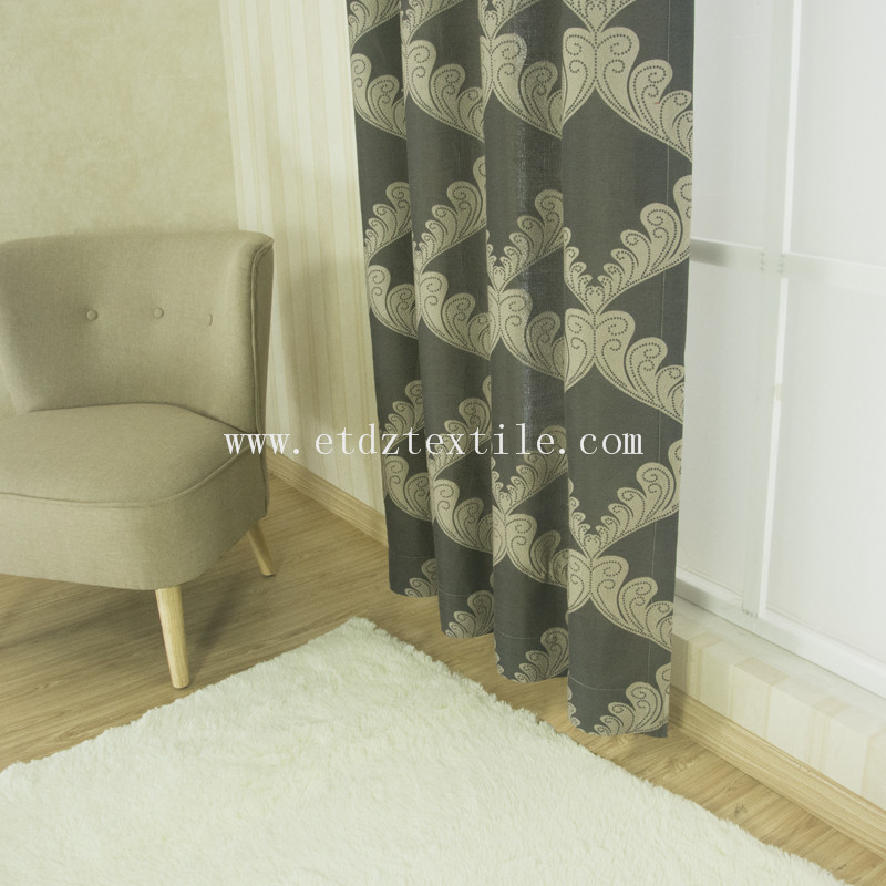 G20 HOT polyester yarn dyed curtain QZ1538