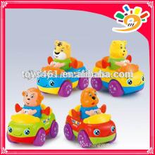 Mini Animal Cartoon Friction Car Toys For Baby Mini Plastic Car