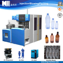 2017 New Design Automatic 4 Cavities Bottle Blowing Machine in China