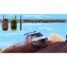 IP68 Drop-Proof robustes Android-Handy