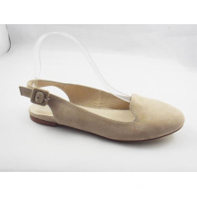 2016 New Style Women′s Sling Back Dress Flat Shoes (HCY03-171)