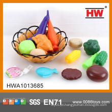 Hot Sale brinquedos de plástico frutas e legumes
