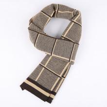 Мужская мода проверено шаблон зима теплая шарфа (YKY4614)