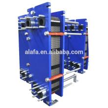 agua de enfriamiento y calefacción intercambiador de calor de uso