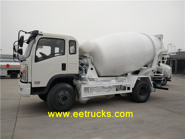 6 cbm Concrete Mixer Trucks