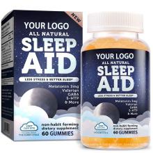 5-HTP Natural Serotonin Sleep Aid Gummies with Melatonin Chamomile For kids