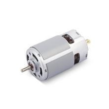 China manufacturer custom big torque high rpm Dual Shaft rs-775 motor dc 24v