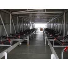 Cinta transportadora para manejo de materiales de carbón