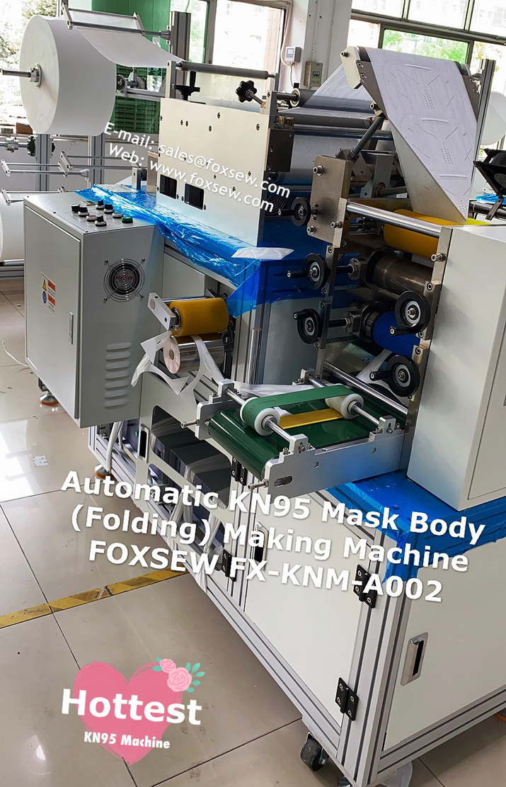 Automatic KN95 Mask Making Machine -9