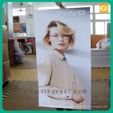 Custom outdoor flat vinyl hanging banner