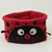 Cartoon Ladybug Wired Sleep Headphones Cute Earphones