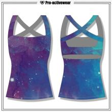 OEM fábrica Spandex Gym Clothing Gym Tank Top feito sob encomenda