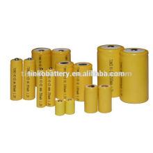 ni-cd battery size AA 600mah good quality with CE