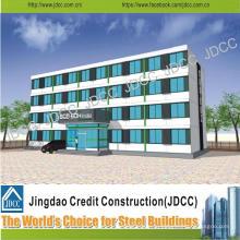Китай Jdcc Светлая Стальная Структура Многоэтажного Здания Отеля