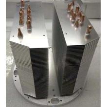 Disipador térmico de tubo de cobre y aluminio de 600 W con placa de níquel