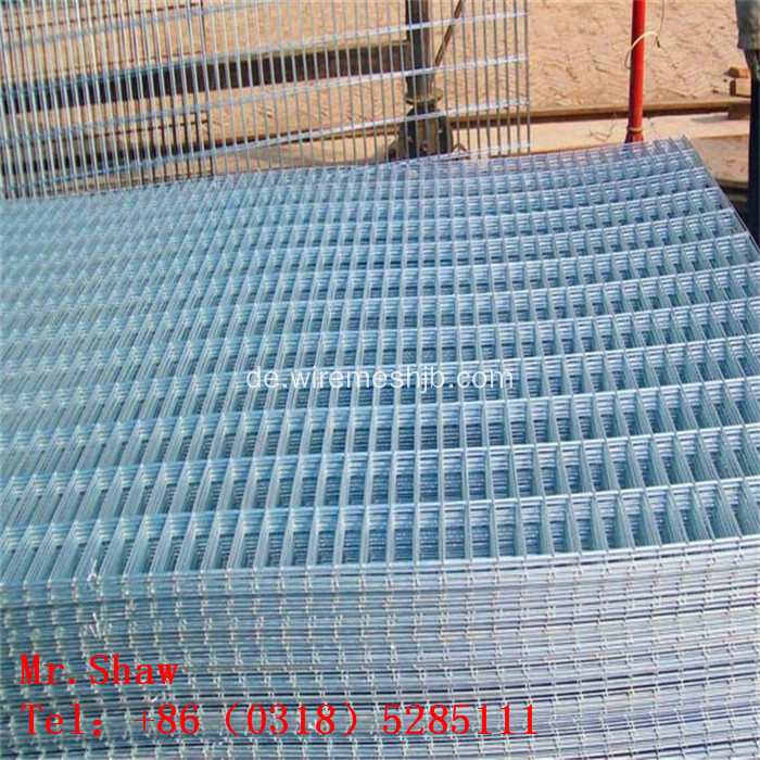 Hot-Dip Square Hole Welded Wire Mesh