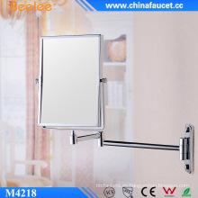 Espejo compacto decorativo rectangular de 8 ′ ′ de doble cara 3X