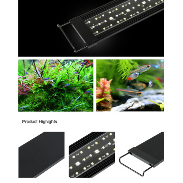 "Heto Aquarium 30 ""Super Slim LED-Licht Remote-Version"