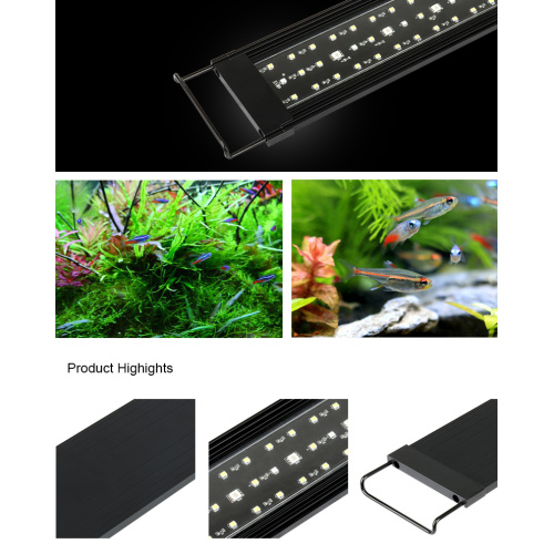 "Heto Aquarium 18 ""Super Slim Aquarium LED Light"